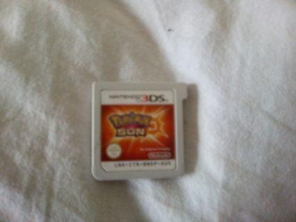 3DS XL plus Pokemon Sun!