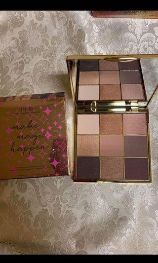 TARTE Amazonian clay eye palette make magic happen