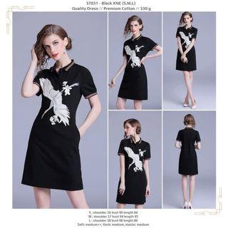 Black XNE (S,M,L) Quality Dress -37031