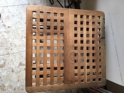 IKEA 格紋折疊桌