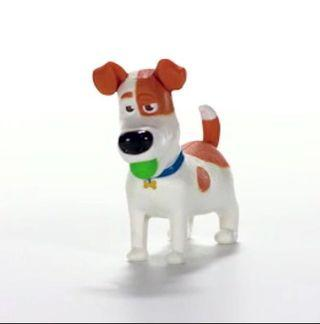 McDonald's Secret life of pets 2 - Tail wagging max ( not available in sg )