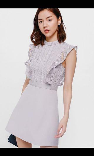 🚚 Looking for Love bonito Daia lace ruffle dress in s size