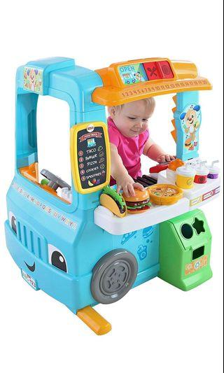 ~Ready Stocked~ Fisher-Price Laugh & Learn Servin' Up Fun Food Truck Van/ kitchen playset