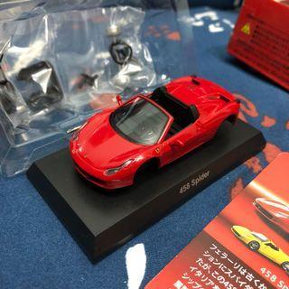 Kyosho 1/64 Ferrari 458 Spider