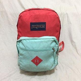 Jansport rightpack ada slot laptop original second