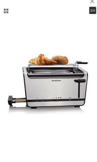 Silver crest double long slot toaster