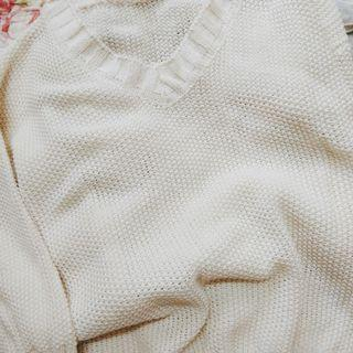White Top knitted