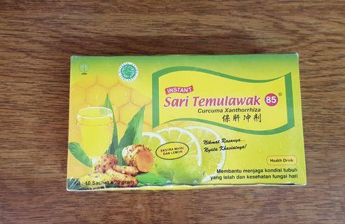 🚚 Temulawak with Honey and  Lemon Drink