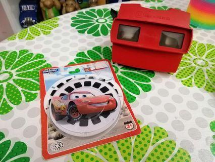 VIEWMASTER REEL Cars Disney Pixar