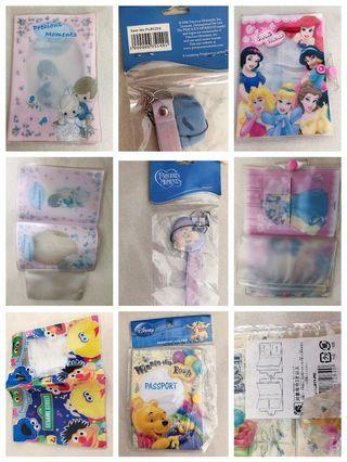 🚚 Precious moment key chain, sweet princess passport holder,Winnie the Pooh,Sesame street passport