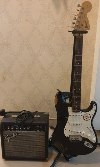 Squier Strat Affinity Series + Add Ons