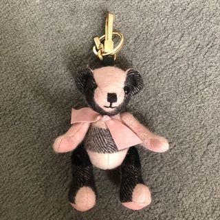 Burberry Thomas bear charm pink