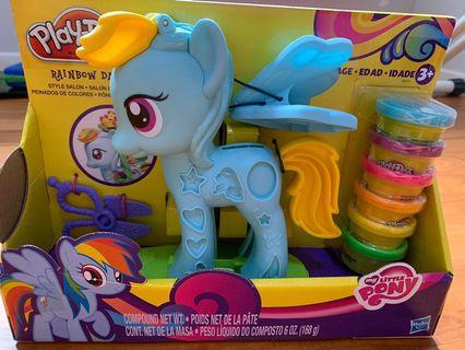 🚚 Play-doh Rainbow Dash My Little Pony