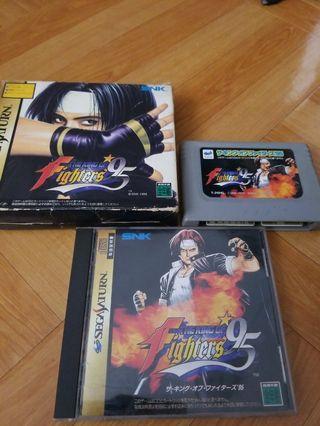 世嘉 Sega saturn 拳皇95  Game