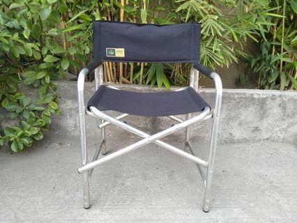 Logos aluminum detector folding chair camping fishing condo