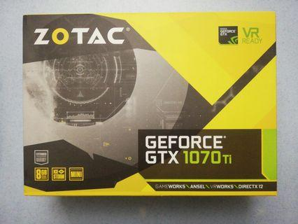 Zotac GTX 1070 Ti 8GB