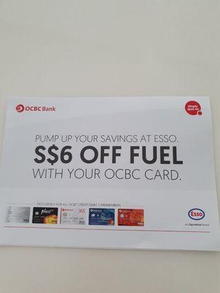 🚚 Esso Fuel Petrol Coupon Voucher