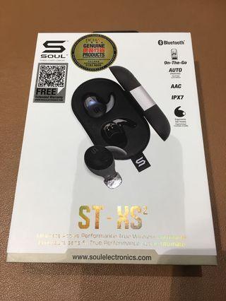 SOUL ST-XS2 True Wireless Earphone(Black) 藍牙耳機