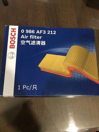 Bosch air filter for Mazda 3 skyactiv