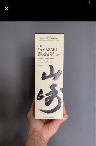 🚚 Yamazaki distiller's reserve