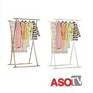 asotv X shape clothes drying rack 0018