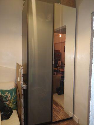 Ikea pax 236 cm wardrobe. Fits a lot!