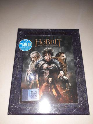 The hobbit extended edition 3 blu ray set
