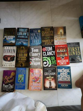 Assorted books for clearance I