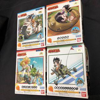 Dragon ball mecha collection model kit (set of 4)