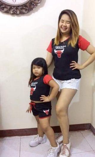 Mother & Daughter Shirt & Terno Set
