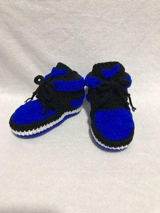 Crochet Nike Inspired Baby Sports Shoes