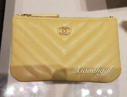 💛19S💛 Chanel lmited edition ocase wallet pouch (put many things)