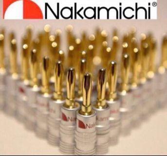 🚚 Nakamichi banana plug (20pcs pack)