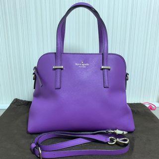 Kate Spade Cameron Street 貝殼袋 紫色