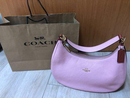🚚 💗reduced!! BNWT Coach pink red hobo