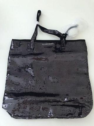 Victoria Secret bag with Furry balls