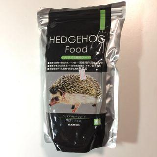 Hedgehog 刺猬 糧 乾糧 粒條狀 日本製 未開封 1kg 原價2百幾