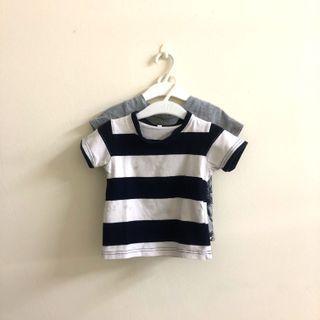 (2pcs for rm8) stripe & printed shirt