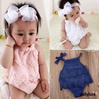 Instock Baby Girl Romper size.0-12M