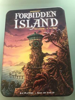 Forbidden Island board game - for aged 10 & up