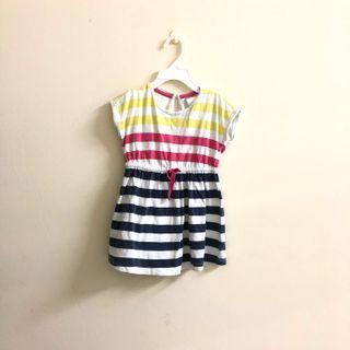 Striped dress for girl