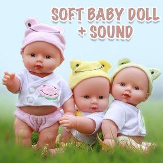 SOFT BABY DOLL + SOUND