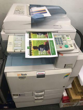 🚚 Cheap Ricoh Color Copier MPC2800 in very good conditioned