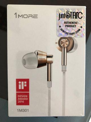 1MORE in-ear piston headphones headset good sound in-ear earphones