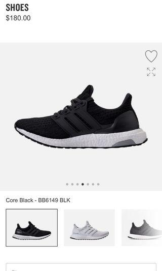Adidas ultraboost female size US7, UK5.5