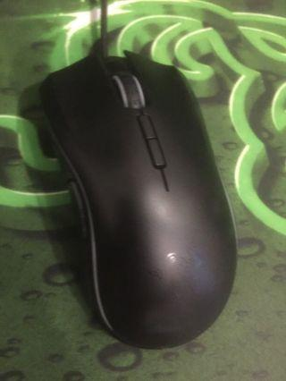 Razer mouse keyboard and mat set