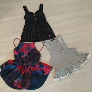 🚚 Set D - 3 Tops for $18. DC, MDS, Sportsgirl