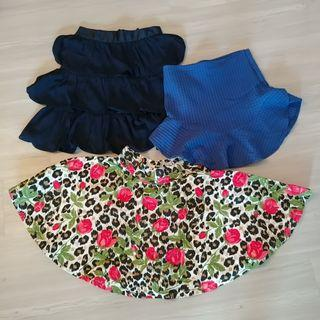Set E - 3 Skirts for $18. Pomelo, Zara, Mink Pink