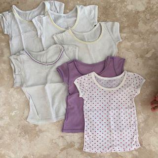 Uniqlo baby tops