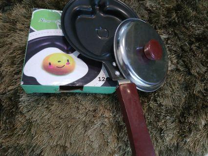 Pancake, telur, teflon